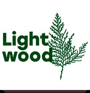 Логотип заведения Light Wood