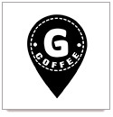 Логотип заведения G COFFEE