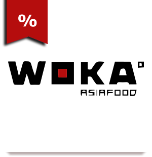Логотип заведения WOKA