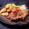 Стейк зі свинини на грилі з соусом деміглас Kioto Rich