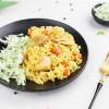 Плов з куркою + салат з капусти Пані Піта