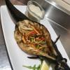 Скумбрія-гриль з овочами Болоньєтта Тратторія