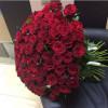Красная роза Light Wood