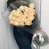 Роза Avalanche Peach - (19 роз) (№08) Light Wood