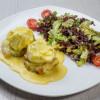 Яйця Бенедикт з слабосоленим лососем Vitamin Fitness Cafe