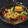 Половина курчати з часниково-горіховою скоринкою і соусом барбекю Grill Pub