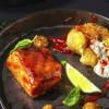 Філе лосося-гриль в глазурі кім-чі з печеним картоплею Grill Pub