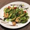 Салат гриль з креветками та авокадо Аристократ