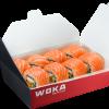 Филадельфия в кунжуте с лососем WOKA