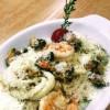 Різото з морепродуктами  Пастерія