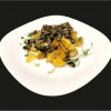 Картопля смажена по-домашньому з грибами Старт