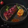 Свинячі реберця в вишневої глазурі з кукурудзою гриль Grill Pub