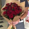 Красные розы (№03) Light Wood
