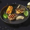 Медальйони зі свинячого філе з кукурудзою гриль і грибним соусом Grill Pub