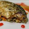 Смажена скумбрія з картоплею та азіатським соусом Vitamin Fitness Cafe