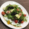 Салат з лососем та моцарелою  Аристократ