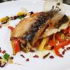Скумбрія запечена з овочами  Аристократ