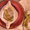 Хачапури по-аджарски с мясом Georgia