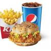 Шефбургер/Шефбургер гострий меню KFC