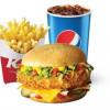 Чізбургер де Люкс меню KFC