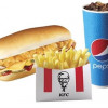 Лонгер Чіз меню KFC