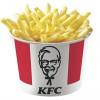 Бакет картоплі фрі KFC