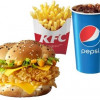 Шефбургер де люкс меню KFC