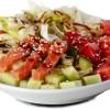 Салат з лососем Крила