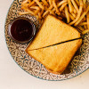 Сэндвич с телятиной  PUSHKA LOUNGE BAR