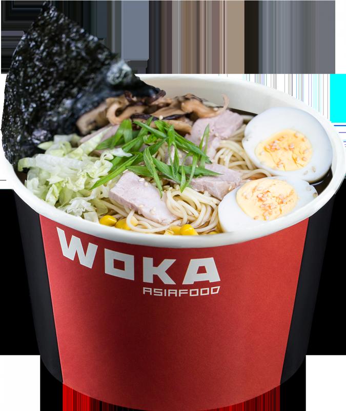 Суп Рамен со свининой WOKA