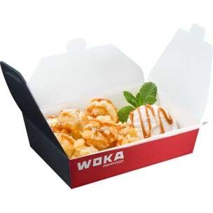 Десерт Банан-темпура WOKA