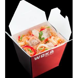 Стеклянная лапша с курицей  WOKA