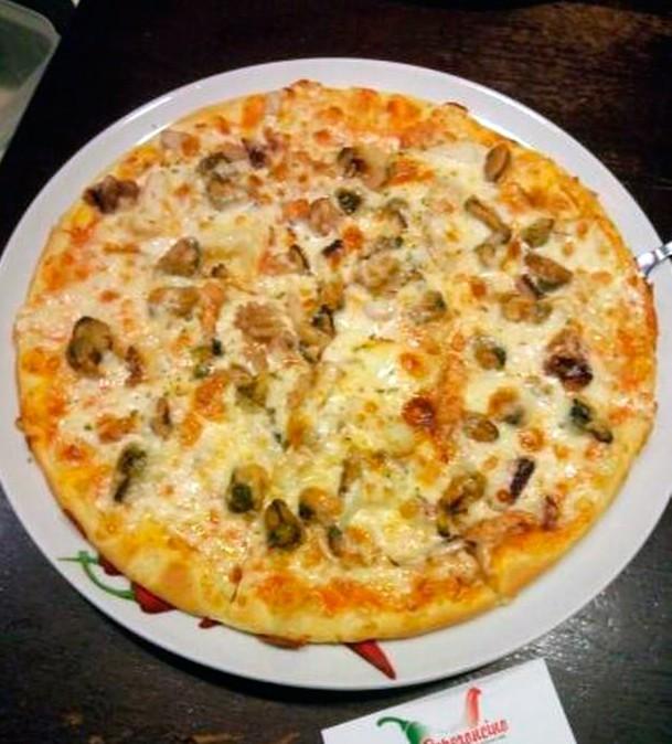 MARINARA Пицца с морепродуктами Пеперончино