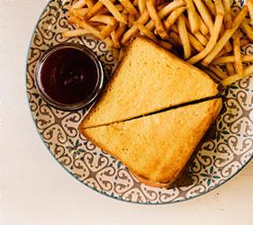 Сэндвич с курицей песто   - PUSHKA LOUNGE BAR
