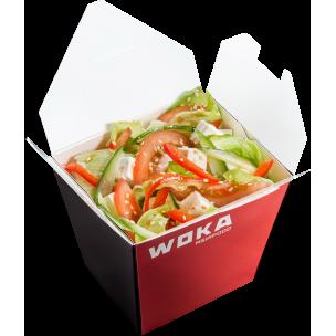 Ясай салат с сыром Фета WOKA